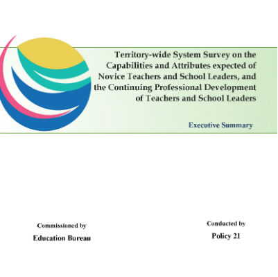 Territory-wide System Survey Executive Summary